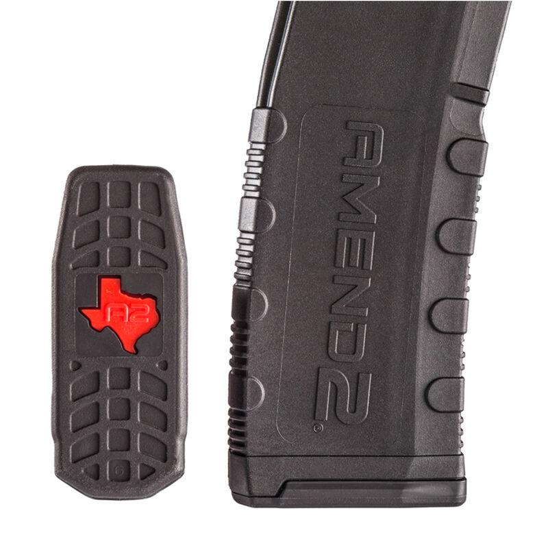 Amend2 Mod-2 Special Edition AR-15 30 Round Magazine .223 Remington/5.56 NATO Anti-tilt Super Follower Stainless Steel Spring Polymer Texas Edition Matte Black