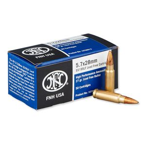 FNH USA SS195LF 5.7x28mm 27 Grain JHP 50 Round Box