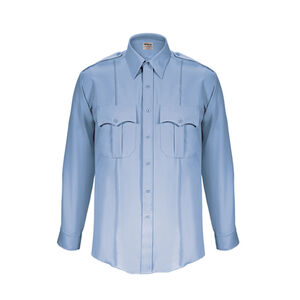 Elbeco TexTrop2 Men's Long Sleeve Size 18.5 Neck 35 Sleeve Blue