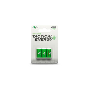 Viridian Green Laser Battery CR2 Lithium Batteries Three Pack