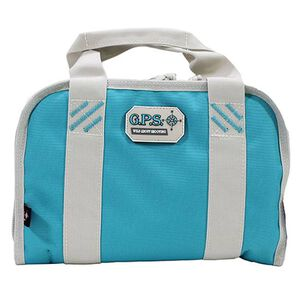 G Outdoors Compact Double Pistol Case Robin Egg Blue