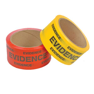 "Safariland Evidence Box Sealing Tape 2""x165' Red 3-4302"