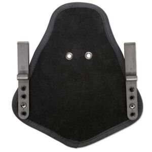 Uncle Mike's Inside the Pants Holster Adapter with Belt Clips for Relfex and Kydex Holsters Ambidextrous Suede Black