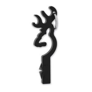 Browning Buckmark Knife Sharpener Two Carbon Steel Blades Key Ring Black 3220010
