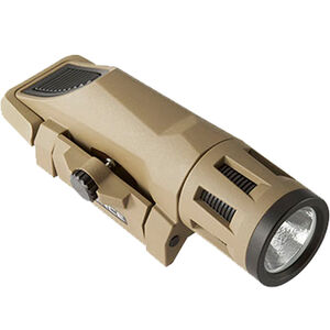 Inforce WML Weapon Light White LED 400 Lumens Picatinny Rail Mount CR123A Polymer FDE