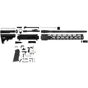 "TacFire AR-15 Complete Rifle Build Kit .300 AAC Blackout 16"" Barrel Lower Parts Kit Matte Black Finish"