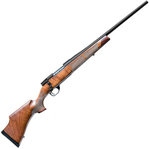 "Weatherby Vanguard Camilla Bolt Action Rifle .243 Win 20"" Barrel 5 Rounds Walnut Stock Matte Blued Finish"