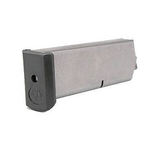 Ruger P90/P97 Magazine .45 ACP 8 Rounds Steel Body Polymer Base Plate Matte Steel Finish 90001
