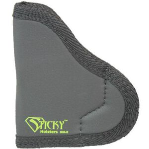 Sticky Holsters SM-2 Holster for Subcompact Handguns Ambidextrous Black