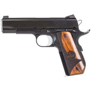 "CZ-USA Dan Wesson Guardian Semi Auto Pistol .38 Super 4.25"" Barrel 9 Rounds Night Sights Wood Grips Black 01988"