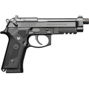 "Beretta M9A3 9mm Luger Semi Auto Pistol 5"" Threaded Barrel 17 Rounds Night Sights Type F Black"