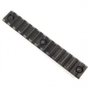 "Guntec AR-15 5"" Removable KeyMod Accessory Rail Aluminum Anodized Black"