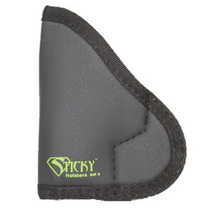 Sticky Holster SM-5 Small IWB Holster Ambidextrous Small Semi Auto Pistols Sticky Skin Material Matte Black Finish