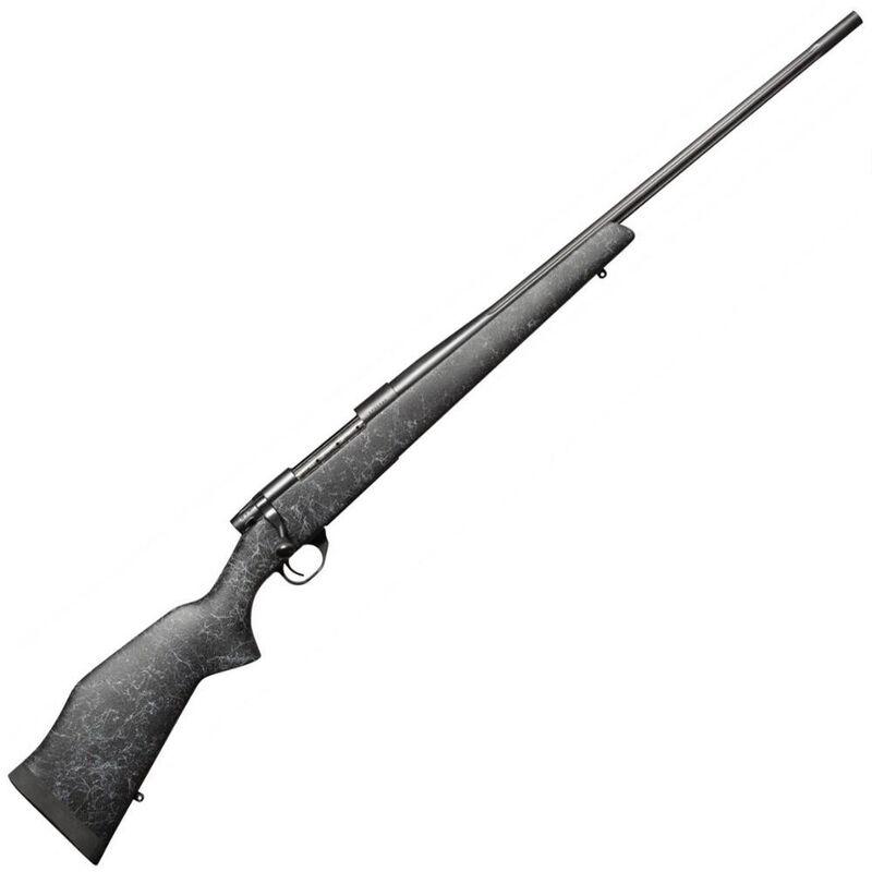 "Weatherby Vanguard Wilderness Bolt Action Rifle .257 Wby Mag 26"" Barrel 3 Rounds Carbon Fiber Composite Stock Matte Blued Finish"