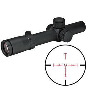 Weaver 1-5X24 Tactical Scope Illuminated CIRT Reticle 1/4 MOA Matte Finish 800364