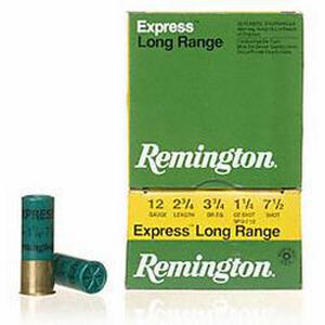 "Remington Express LR 12 Ga 2.75"" #7.5 Lead 1.25oz 25 rds"