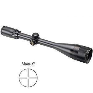 "Bushnell, Banner 6-18x50 Riflescope Multi-X Reticle 1"" Tube 1/4 MOA Matte Black"