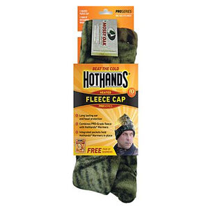 Hot Hands Fleece Knit Cap Mossy Oak Camo Color