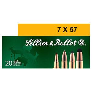 Sellier & Bellot 7x57 Ammunition 20 Rounds 139 Grain Soft Point Projectile 2,651fps