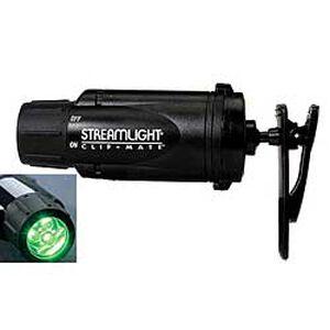 Streamlight ClipMate Light Green LED Black Warranty