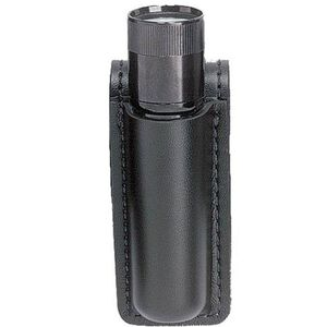 Safariland Model 306 Mini Flashlight Carrier for Streamlight Strion Flashlight Full Sheath Black Nylon Look Finish 306-7-22