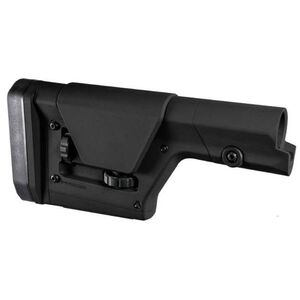 Magpul PRS Gen 3 AR15/AR10/LR308 Precision Adjustable Stock Adjustable LOP/Cheek Piece Polymer Matte Black