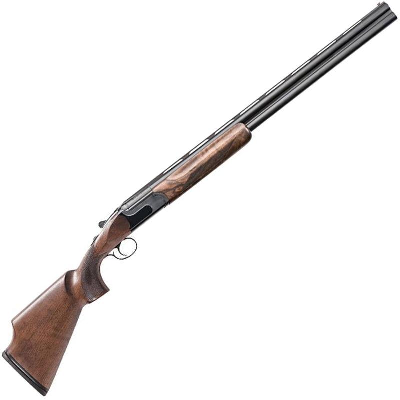 "Charles Daly 214E Compact 12 Gauge O/U Break Action Shotgun 28"" Barrels 3"" Chambers 2 Rounds Ejectors Walnut Stock Matte Blued"