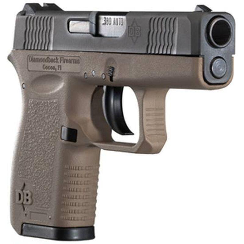 "Diamondback DB380 Semi Automatic Handgun .380 ACP 2.80"" Barrel 6 Rounds Polymer Frame Black Finish DB380"