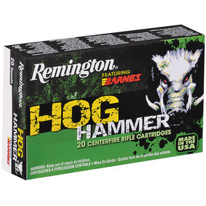 Remington Hog Hammer 30-30 Win 150 Grain TSX 20 Rnd Box