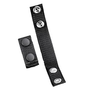 Uncle Mike's Belt Keepers Nylon Web Black 4 Pack 88652