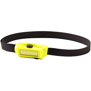 Streamlight Bandit Head Light LED 180 Lumens Rechargeable Battery Hard Hat Strap Included  Polymer Yellow