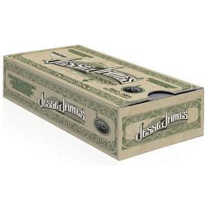 Jesse James TML 9mm Luger Ammunition 50 Rounds 115 Grain Total Metal Coating 1128fps