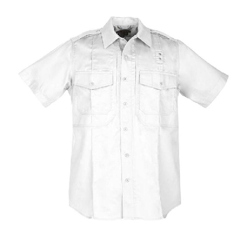 5.11 Tactical Men's Short Sleeve PDU Class A Twill Shirt Extra Large Regular Midnight Navy 71183