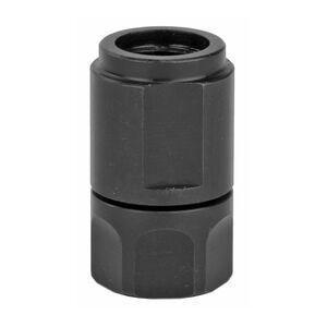 Dead Air Armament Mask-HD FN 5.7 Thread Adapter 1/2x28 Right Hand Thread Pitch Matte Black