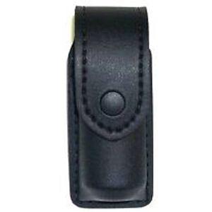"Safariland Model 38 OC Spray Holder Standard Top Flap 1.375""x5"" SafariLaminate Black Snap Closure STX Tactical Black 38-3-13PBL"
