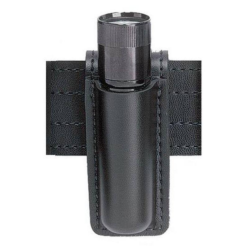 Safariland Model 306 Open Top Mini-Flashlight Holder, SureFire 6P, Basket Weave