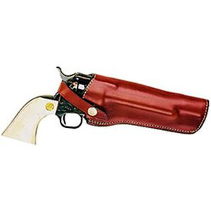 """Bianchi Lawman Holster SA Revolvers 4-5/8"""" Barrels Size 2 Right Hand Leather Tan"""