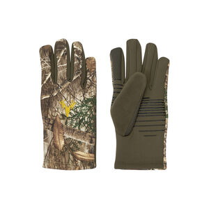 Hot Shot HF1 Hawktail Fleece Tech Touch Size Large Gloves Realtree Edge Camouflage