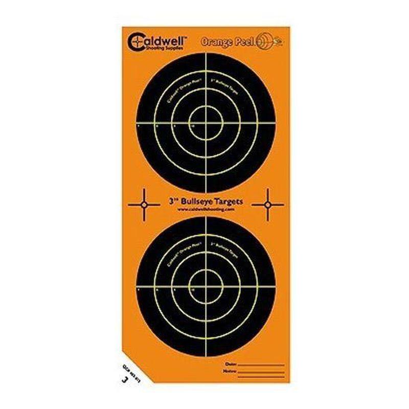"""Caldwell Orange Peel Bulls-Eye 3"""" Targets 15 Pack"""