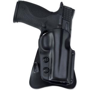 Galco M5X Matrix GLOCK 19, 23, 36 Paddle Holster Right Hand Thermoplastic Black M5X226