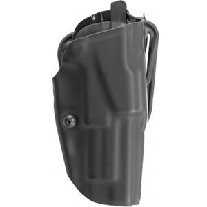 "Safariland 6377 ALS Belt Holster Right Hand M&P 9C with 3.375"" Barrel STX Plain Finish Black 6377-319-411"