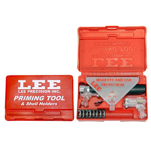 Lee Precision New Auto Prime Tool Kit with Shell Holders