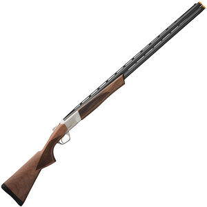 "Browning Cynergy CX 12 Gauge O/U Break Action Shotgun 28"" Vent Rib Barrels 3"" Chamber 2 Rounds Walnut Stock Silver/Blued Finish"