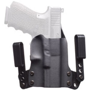 BlackPoint Mini WING IWB Holster For GLOCK 42 Right Hand Leather/Kydex Black 101880