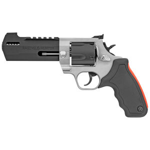 "Taurus Raging Hunter .454 Casull DA/SA Revolver 5.12"" Ported Barrel 5 Rounds Adjustable Rear Sight Picatinny Top Rail Rubber Grip Two Tone Finish"