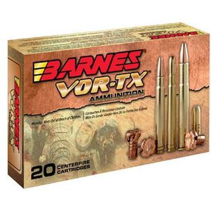 Barnes .470 Nitro Express Ammunition 20 Rounds BND SLD FN 500 Grains