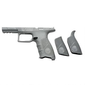 Beretta APX Grip Frame Modular Replacement Chassis Additional Back Straps Polymer Wolf Grey