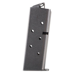 Metalform Colt Mustang Magazine .380 ACP 6 Rounds Stainless Steel Construction Natural Finish
