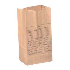Armor Forensics 100 Paper Evidence Bags Style 12