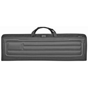 """Evolution Outdoor Tactical EVA Series 42"""" Double Rifle Case EVA Construction Black"""